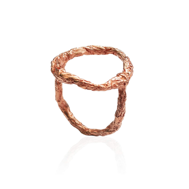 ILLUSION Siska Ring - Rose Gold