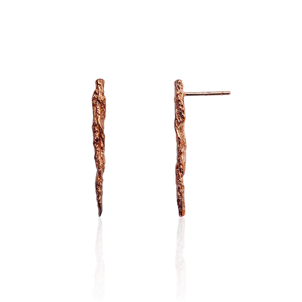 ILLUSION STICK STUDS - ROSE GOLD