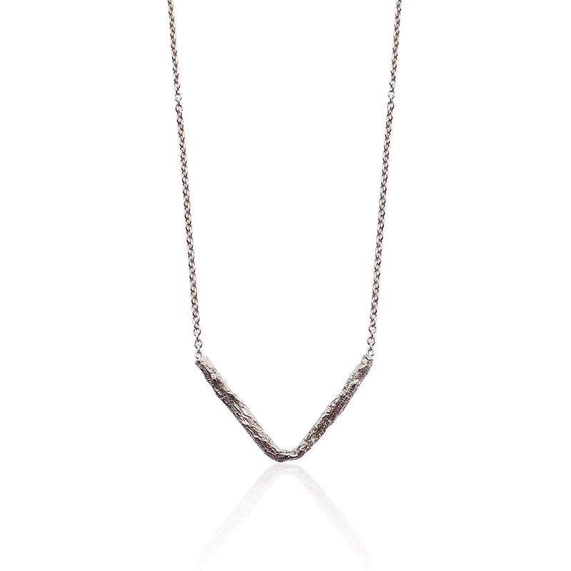 ILLUSION V necklace - Silver