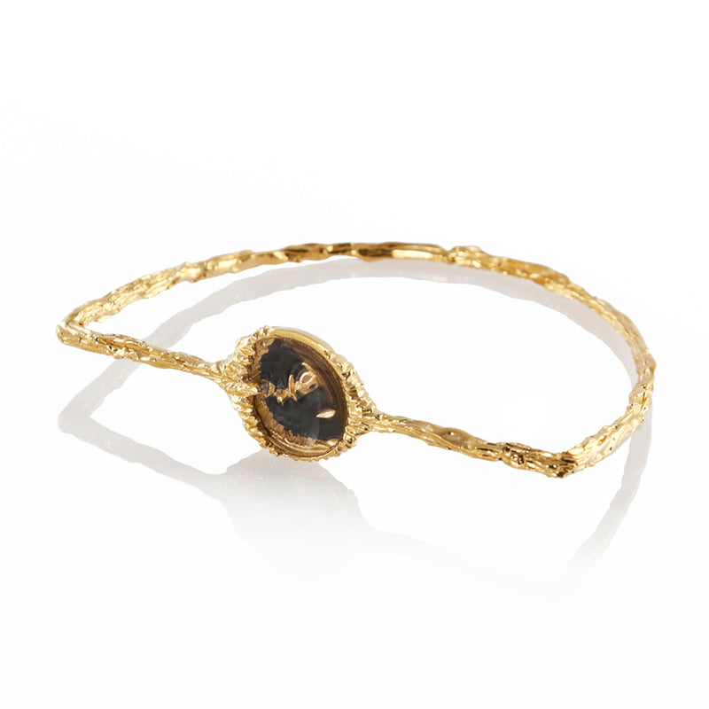 PETROLEUM Bangle - Gold