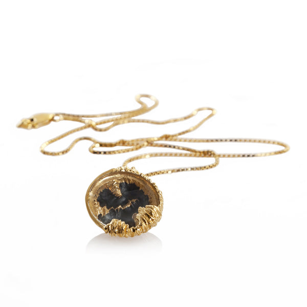 PETROLEUM Small pendant - Gold