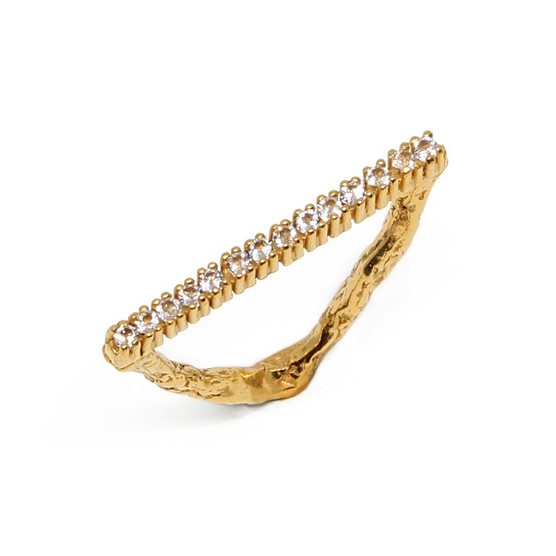 DELTA Eternity 18kt gold ring