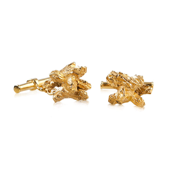 UNDER EARTH Cufflinks - Gold