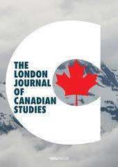 The London Journal of Canadian Studies