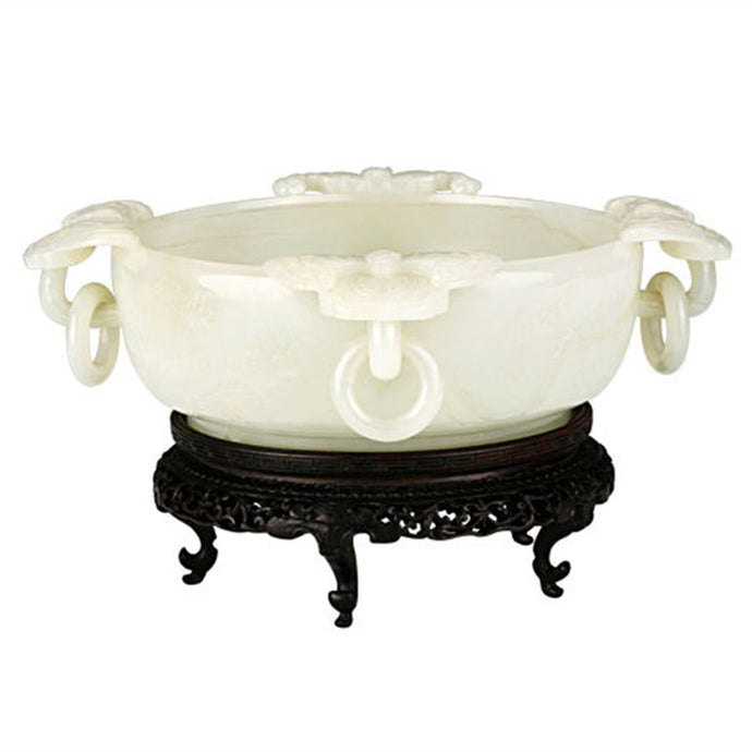 Shenyang imperial palace white jade appreciation
