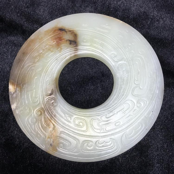 Rich cultural connotation of ancient jade