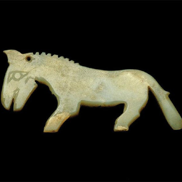 The appreciation of the jade horse in the past dynasties