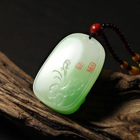 Natural jade carving collectibles Chinese Kunlun jade nephrite