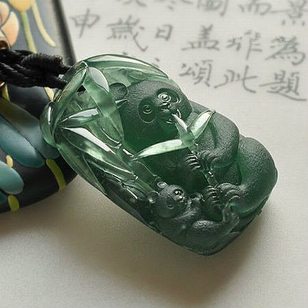 Natural jade carving jadeite carving collectibles
