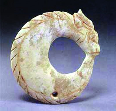 Natural jade carving collectibles Chinese ancient jade