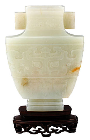 Natural jade carving ancient Chinese jade carving collectibles