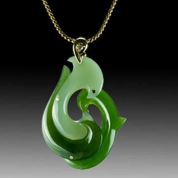 Natural jade pendant nephrite jade pendant necklace
