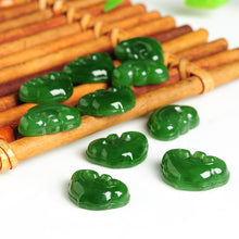 Natural Jade Beads Nephrite Ruyi Bead