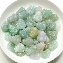 Natural jade jadeite Buddhism beads mixed colors wholesale