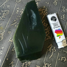 Natural jade rough Chinese Kunlun nephrite jade raw