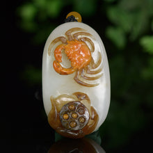 Natural jade carving nephrite collectibles Chinese Hetian jade