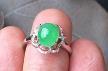 Natural Jade Ring Jadeite Ring TP24