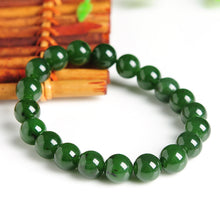 Natural jade green nephrite bracelet wholesale