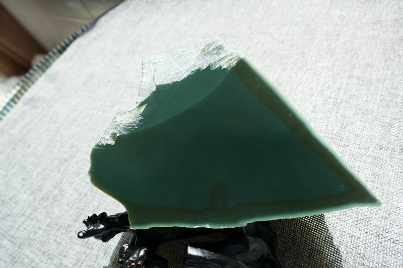 Natural jade rough nephrite raw stone Chinese Kunlun jade