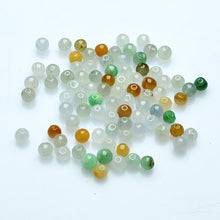 Natural jade jadeite beads mixed colors wholesale