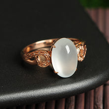 Natural Jade Ring Jadeite Gold Ring RG40