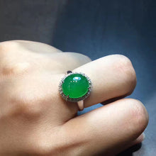 Natural Jade Ring Jadeite Ring