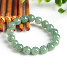 Natural jade jadeite bracelet green blue grey wholesale