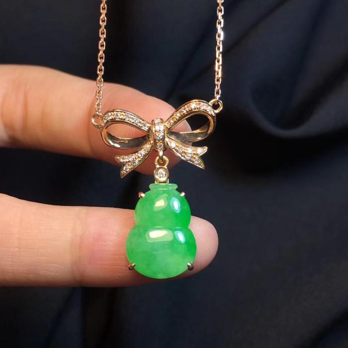 Natural Jade Necklace Jadeite Necklace