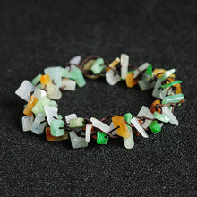 Natural jade jadeite bracelet mixed colors wholesale