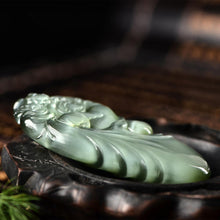 Natural jade carving nephrite collectibles Russia Siberian jade