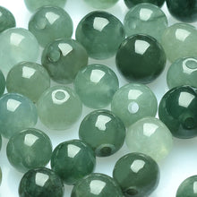 Natural jade jadeite beads dark green grey wholesale