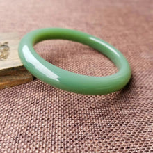 Natural Jade Bangle Russian Siberian jade Bangle