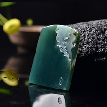 Natural jade jadeite carving collectibles homecoming