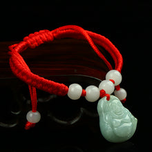Natural jade jadeite bracelet Buddha wholesale