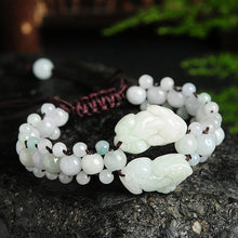 Natural jade jadeite PiXiu bracelet wholesale