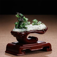 Natural jade carving Siberian nephrite jade collectibles