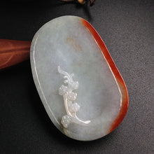 Natural jade jadeite carving collectibles spring bird
