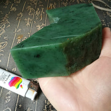 Natural jade rough Russia Siberian nephrite jade raw