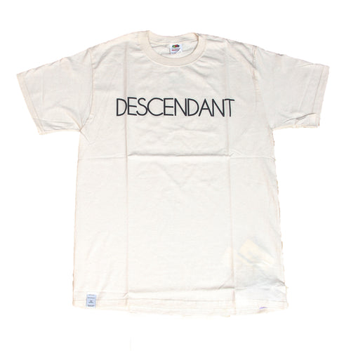 DESCENDANT x THE PARKING GINZA PADDLE TEE