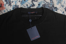 LV BLACK JACQUARD VELOUR SATELLITE T-SHIRT