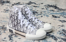 DIOR B23 HIGH-TOP SNEAKERS IN DIOR OBLIQUE