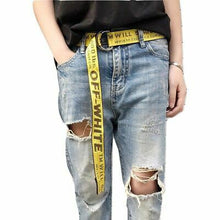 OFF-WHITE x YELLOW INDUSTRIAL BELT