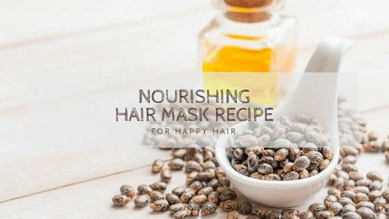 Easy Summer Nourishing Hair Mask Recipe