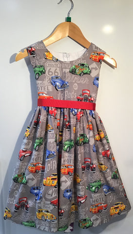 Girl's American Hotrod Dress