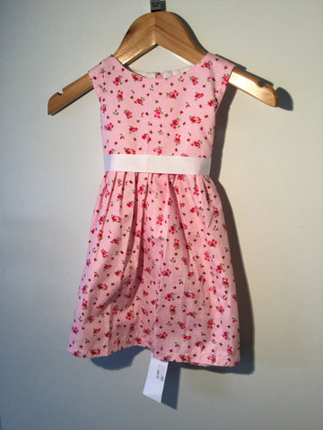 Girl's Ditsy Rose Dress