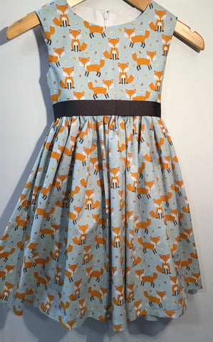 Girl's Cute Foxy Dress