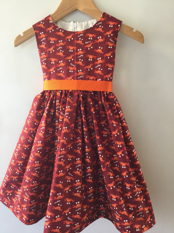 Girl's Cute Crabbie Dress