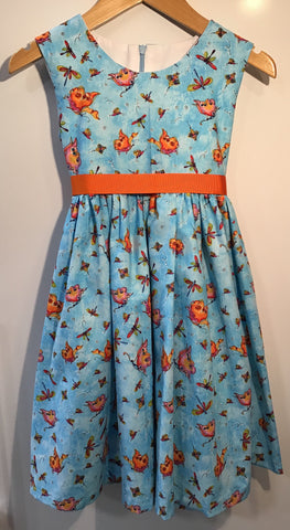 Whimsical Butterflies girls dress