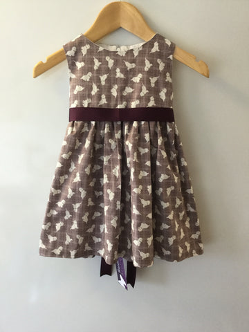 Girl's Westie Dog Dress