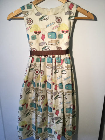 Girl's Bon Voyage Dress